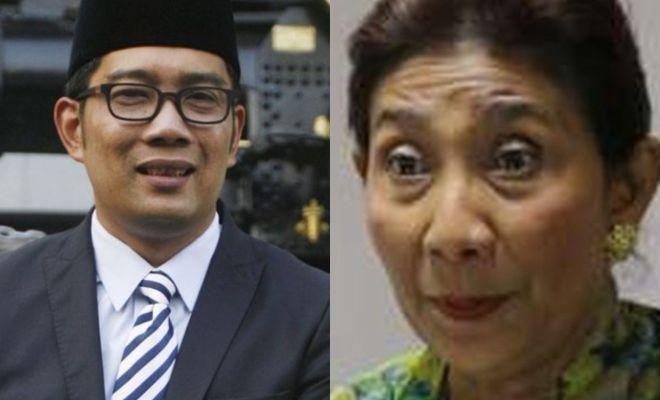 Ridwan Kamil Kunjungi Rumah Susi Pudjiastuti Tawari Jabatan