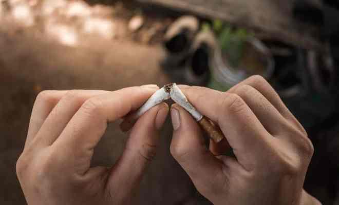 Tips Berhenti Merokok Alami
