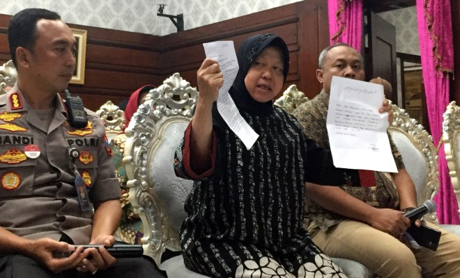 Dianggap Salahgunakan Wewenang, Risma dan Kapolrestabes Surabaya Dilaporkan ke Ombudsman