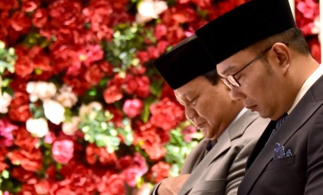 Kebetulan Bertemu, Ridwan Kamil Tiba-tiba Minta Maaf ke Prabowo, Ada Apa?