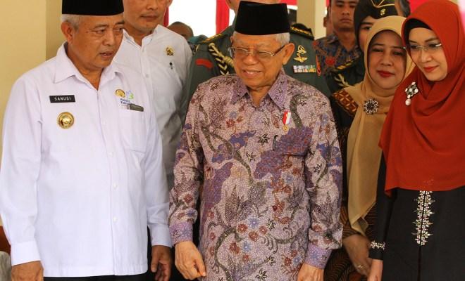 TIKTAK.ID - Lama Tak Muncul, Ma'ruf Amin Beri Pernyataan Tegas Terkait Reshuffle