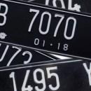 Ternyata ini Arti Huruf, Angka dan Beda Warna Dasar di Plat Nomor Kendaraan Kita
