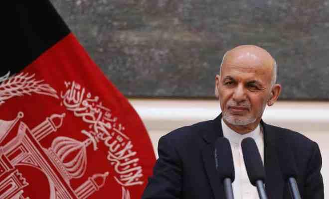 Bersamaan Wafat Ashraf Sinclair di Tanah Air, Ashraf Ghani Jabat Kembali Presiden Afghanistan