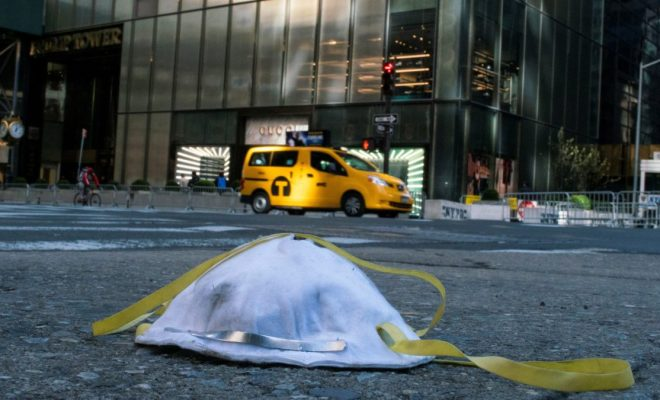 Amerika Terpuruk, 17 Ribu Lebih Terinfeksi Corona, New York City Lockdown