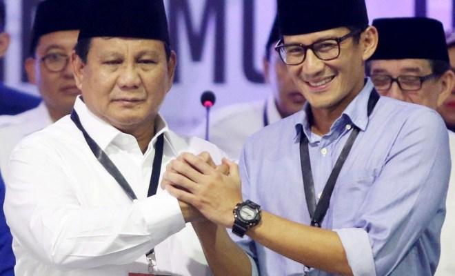 Bantah Dukung Sandiaga Jadi Ketum Partai, Gerindra Satu Suara Tetap Prabowo