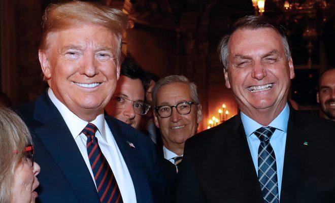 Pembantu Presiden Brazil yang Bertemu Tump Positif Virus Corona