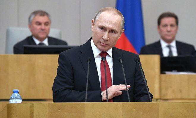 Putin Klaim Rusia Berhasil Lawan Virus Corona