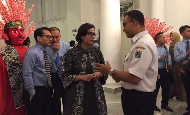 Anies Tagih Dana Piutang DKI Rp 5,1 Triliun ke Sri Mulyani