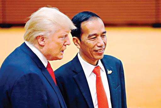 Donald Trump: Seorang Teman, Presiden RI Joko Widodo, Ia Meminta Ventilator
