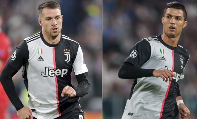 Juventus Bakal Lepas Aaron Ramsey Jika Gagal Jual Cristiano Ronaldo