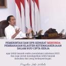 Postingan Jokowi di Medsos Soal RUU Cipta Kerja Mendadak Dihapus dan Diralat, Ada yang Salah Pak?