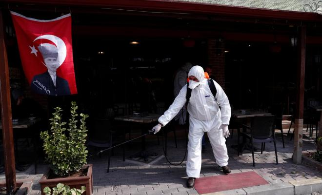 Salip Iran, Turki Peringkat 1 Kasus Covid-19 di Timur Tengah