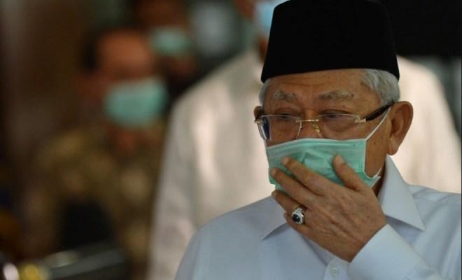 Strategi Hambat Corona, Ma'ruf Amin Minta MUI Terbitkan Fatwa Haram Mudik