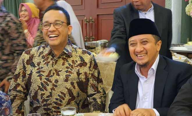 Viral, Ustaz Yusuf Mansur Dukung Anies Baswedan Maju Pilpres 2024, Benarkah?