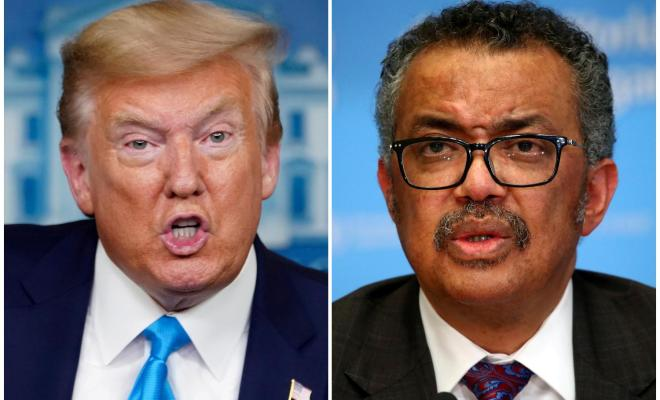 WHO Desak Trump dan Amerika Serikat Akhiri Politisasi Wabah Covid-19