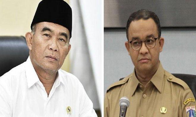 Dua Mantan Mendikbud Jokowi Bersitegang, Data Bansos Kacau, Muhadjir Tegur Keras Anies