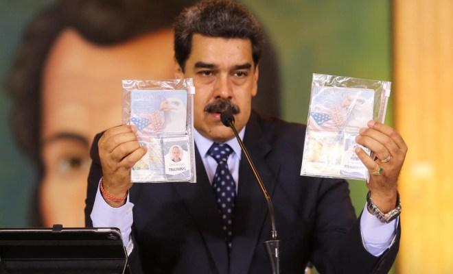 Venezuela Tangkap Dua Warga Amerika yang Terlibat Penyerangan Bersenjata