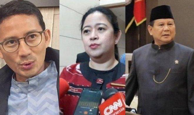 Sandiaga Uno Blak-blakan Bicara Perubahan Peta Pemilih dan Potensi Duet Prabowo-Puan di Pilpres 2024