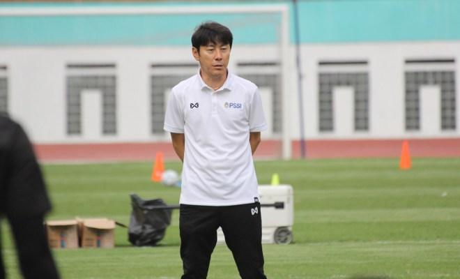 Shin Tae-yong Pandu Timnas U-19 Latihan Virtual