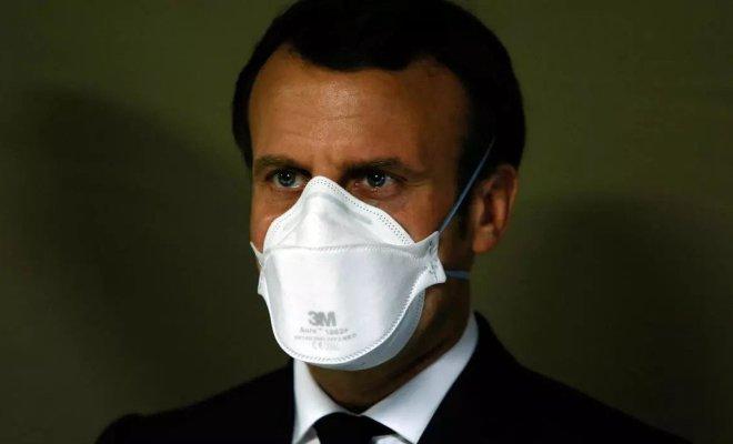 Presiden Prancis: Kehidupan Takkan Kembali Normal Setelah Pandemi