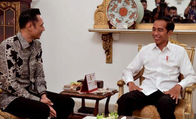 Pasca Kongres Demokrat, Diam-diam AHY Temui Jokowi dan Ma'ruf Amin, Ada Apa?