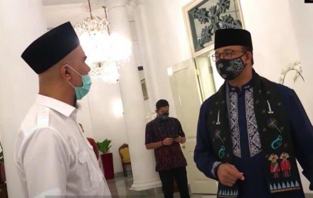 Ahmad Dhani Kunjungi Kantor Anies Baswedan, Urusan Apa?
