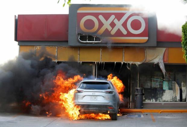 Akibat Bentrok Hebat Polisi vs Kelompok Kartel, Kota Celaya Meksiko Jadi 'Lautan Api'