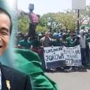 (CEK HOAKS atau FAKTA): Video Mahasiswa Demo Tuntut Presiden Jokowi Mundur