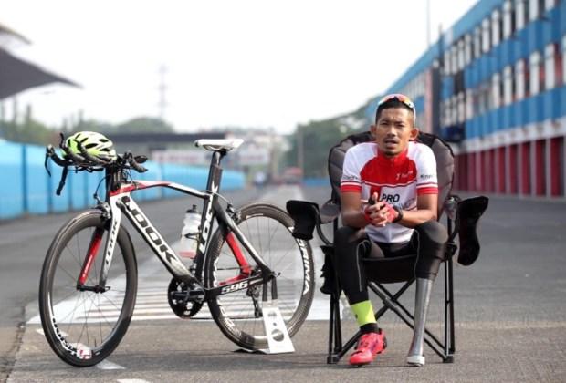 Lolos ke Ajang Paralimpiade Tokyo 2020, Pembalap M Fadli Bangkit Usai Amputasi