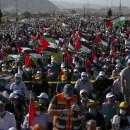 Ribuan Rakyat Palestina Kembali Berunjuk Rasa Menentang Rencana Aneksasi Israel