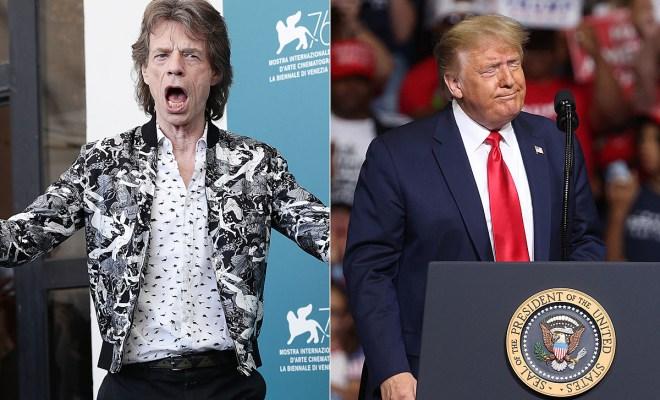 The Rolling Stones Ancam Trump ke Pengadilan Jika 'Bandel' Gunakan Lagunya untuk Kampanye Presiden