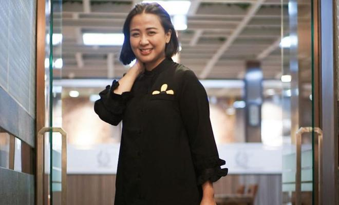 Cinta Anak Jadi Komitmen Astrid Sartiasari Tidak Merokok