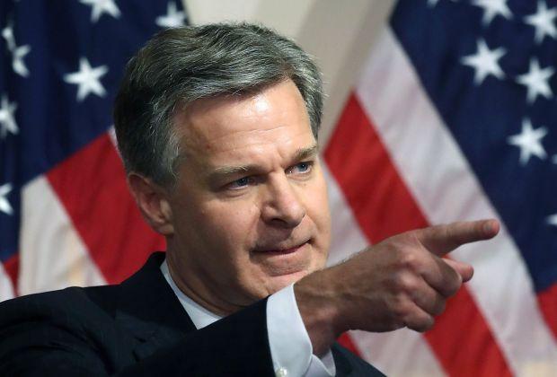 Direktur FBI Tuding China Pelopori Program 'Fox Hunt'