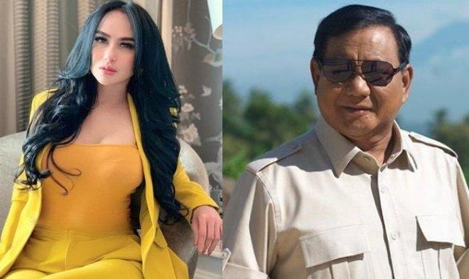 Wow! Prabowo Ditaksir Seorang Janda Manis, Siapakah Dia?