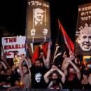 Ribuan Warga Zionis Tuntut Perdana Menteri Israel Mundur