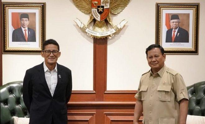 Setelah Bertemu Susi Pudjiastuti, Sandiaga Uno Temui Prabowo. Jangan-jangan...