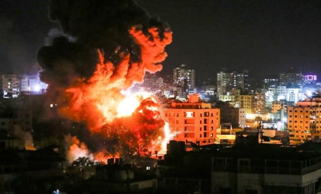 Israel Kembali Gempur Jalur Gaza