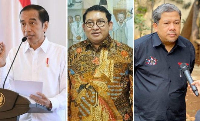 Jokowi Siapkan 'Bintang Penghargaan Sipil Tertinggi' untuk Fadli Zon dan Fahri Hamzah, Apa Gak Salah?