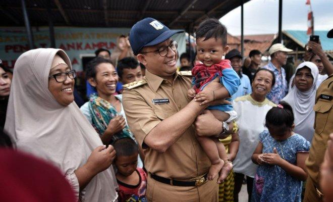 TIKTAK.ID - Penuhi Janji Kampanye, Anies Bangun Kembali Kampung Akuarium yang Digusur Ahok