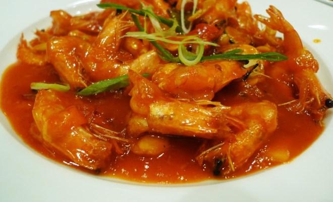 Membuat Udang Saus Padang ala Restoran Seafood