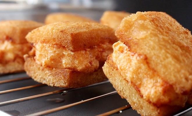 Resep Menbosha, Roti Goreng Udang yang Viral di Korea