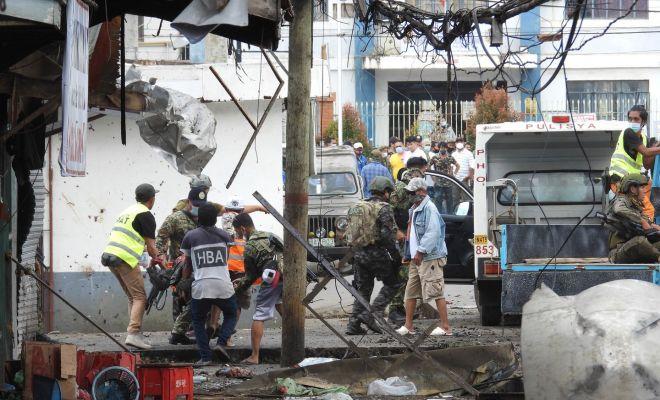 Dua Ledakan Bom di Filipina Tewaskan 10 Orang