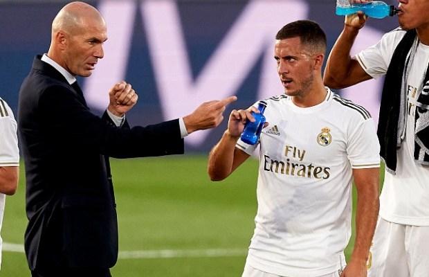 Jelang Musim Baru, Zinedine Zidane Kesal Hazard Kegemukan