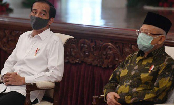Lupa Menyapa Wapres di Acara Resmi Istana, Cara Jokowi 'Nabok Halus' Ma'ruf Amin?