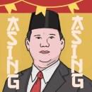 Gak Ada Matinya, Netizen 062 Kembali Ungkit Kampanye Antek Asing Sambil Gebrak Meja ala Prabowo