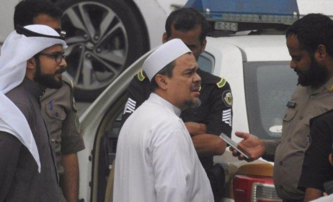 Habib Rizieq Dikabarkan Tewas Ditabrak Unta, Hoaks atau Fakta?