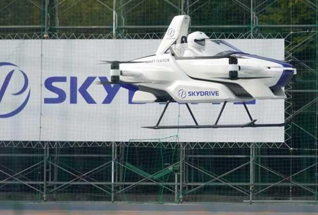 Sukses Uji Coba Mobil Terbang Perusahaan Otomotif Jepang