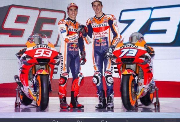 Marc Marquez Bagi Tips Sukses di MotoGP untuk Sang Adik