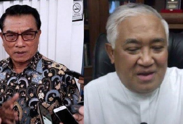 Balas Ancaman Moeldoko, Din Syamsuddin: KAMI Bukan Sekumpulan Pengecut