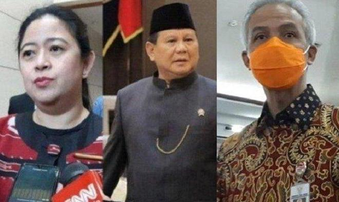 PDIP Bakal Duetkan Prabowo-Puan, Ganjar Geser ke Nasdem?